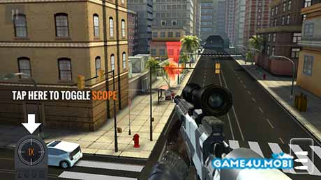 tai game Sniper 3D Assassin hack tien cho android