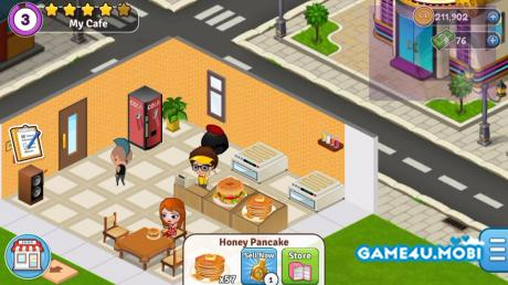 download Cafeland – World Kitchen  (Mod)