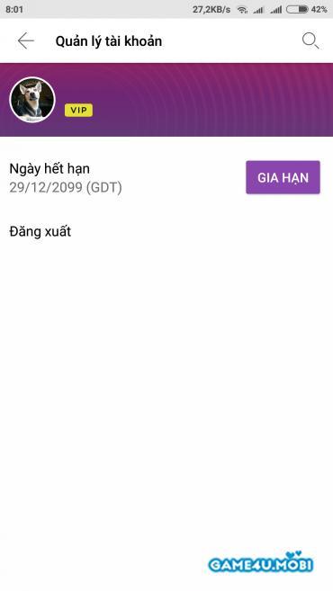 TIỆN ÍCH - Hack tài khoản Vip Zing Mp3 và Nhaccuatui Android 2018