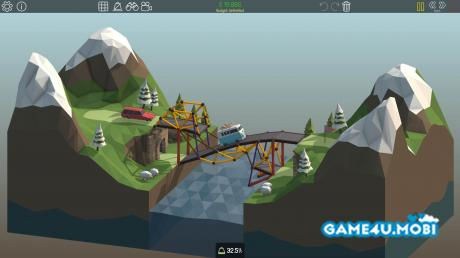 tai game Poly Bridge hack cho android