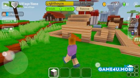 tai game Block Craft 3D hack tien cho android